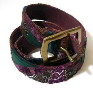 Lucky Brand Patchwork Belt Medium